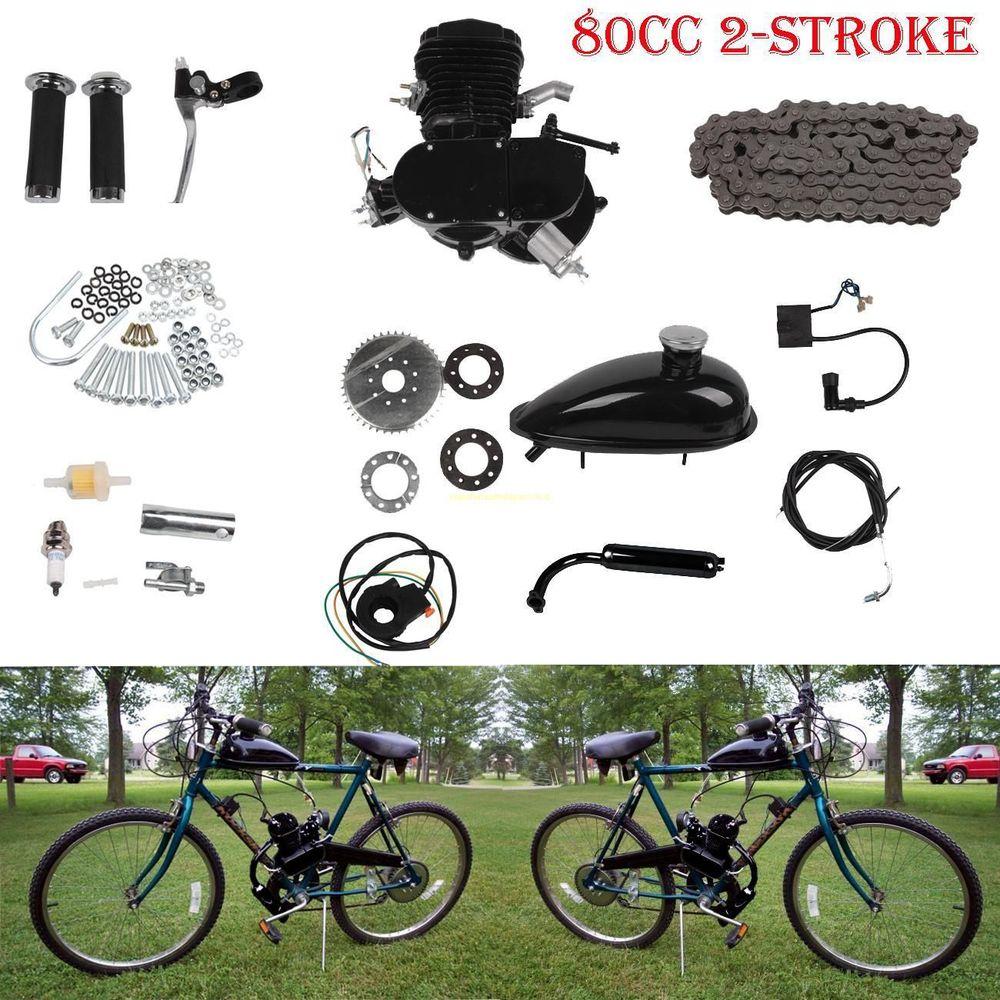 Gasoline Motors For Bicycle Engine 80cc 49cc Motor Bike