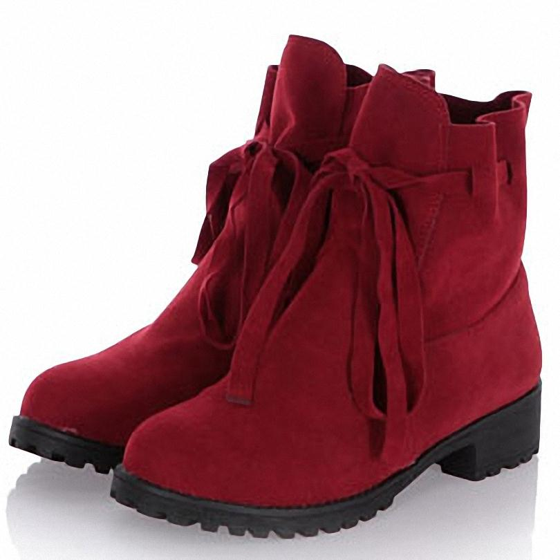 New Arrival Ankle Boots for Women Fashion Martin Boots Hot