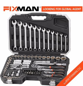 "111PCS 1/2"" & 1/4"" & 3/8"" DR. Socket Tool Sets On Sale Cheap Portable Tool Set"
