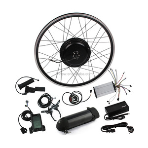 High speed !electric bicycle front / rear wheel 36v 1000w brushless hub motor ebike conversion kit