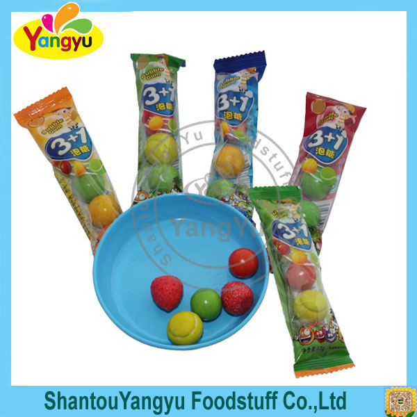 Best Gift Sweet Fruit Shape Mints Flavor Private Label Chewing Gum