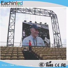 P10 P8 P6 high Brithness aluminum die case outdoor full color led display event stage show hanging big screen