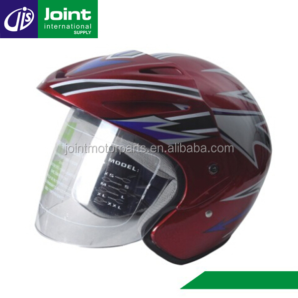 Motorcycle Accessories Custom Abs And Pp Open Face Half Helmet