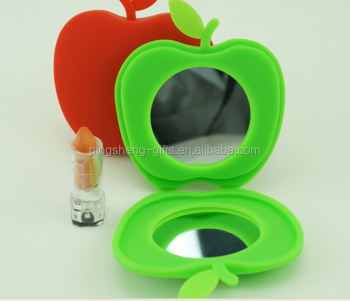 Apple Shape Silicone Mirror