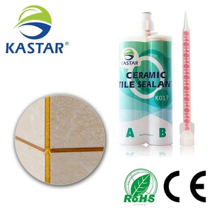 Colored caulking and waterproofing epoxy sealant non shrink grout for floor ceramic tile Gap sealing