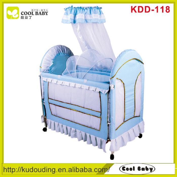 new light bleu lit bb intrieure berceau avec moustiquaire amovible barrire de lit et panneau