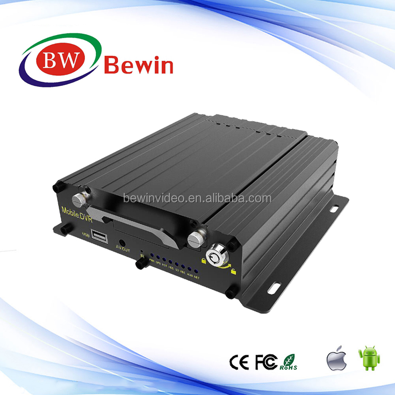 3G WIFI GPS HDD Mobile DVR support 2TB 2.5'' Hard Disk / SSD + Optional SD slots*1 (128GB/SD Card)