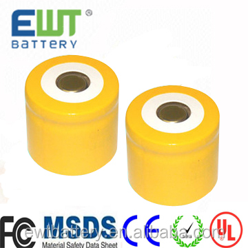 1.2v ni cd 1/2 D nickel cadmium rechargeable battery ni-cd battery 1.2v 2500mah battery cell