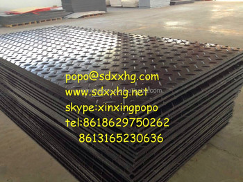 High density plasitc ground mat hdpe plastic tread plate & High Density Plasitc Ground Mat Hdpe Plastic Tread Plate - Buy High ...