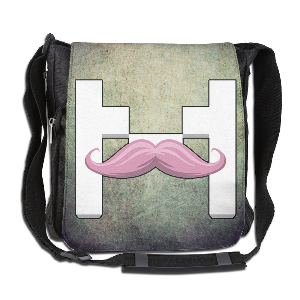 Canvas Markiplier Warfstache Unisex Crossbody Shoulder Laptop Bag