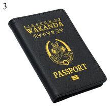 Футляр для кредитных карт из ПУ кожи с защитой от кражи, чехол для паспорта, чехлы для карт, защитные аксессуары для карт(Китай)