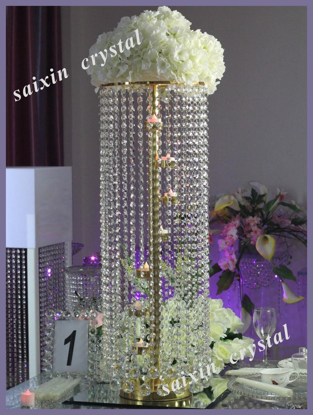 Event Decor Led Light Crystal Walkway Pillar Zt 220b Buy