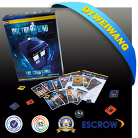 High quality external 3d video playing cards for promotion