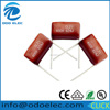 ODOELEC metallized polyester film capacitor cl21 0.82uf 630v 824j 630v/lamp capacitor/cl21