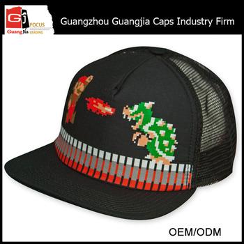 Guangjia tappo produttore all ingrosso personalizzare stampato super mario  bros cappello 0fe77c8ed72c