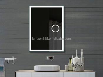 Vergrotende Spiegel Badkamer : Hotel smart touch screen backlit badkamer spiegel met led lamxon