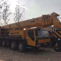 Factory Price Used XCMG QY130K-II Truck Crane 130 ton, Chinese Original XCMG 130 ton Mobile Crane For Sale