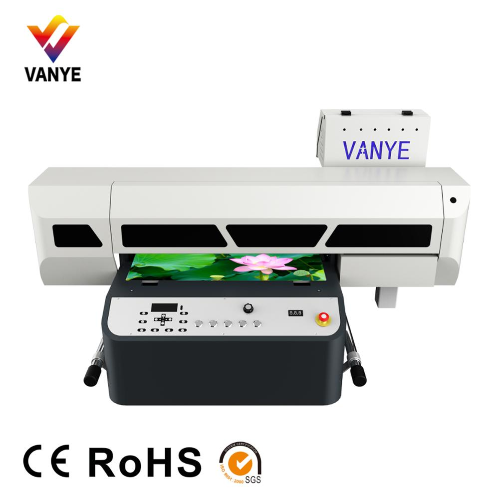 High precision UV wooden board printing machine led flatbed MDF printer with low cost