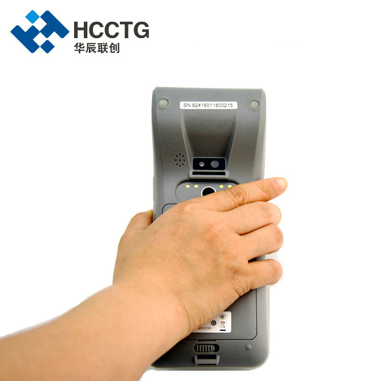 High Speed 5MP Camera Thermal 5.5 Inch LCD Android Handheld POS System With 58mm Printer HCC-Z91