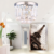 Modern decoration stainless base amber grey clear crystal ceiling light