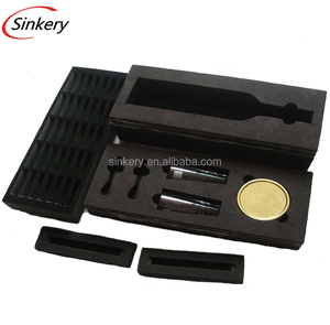 Foam factory provide easy to shaped black Conductive foam