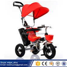 Suitable for 6-72 months' Kids New Model Kids Tricycle Children Tricycle with CCC Certification