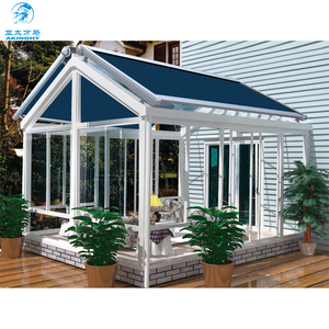 WM-T910 Skylight Arc Flat Transparent Top Roof Retractable Awning