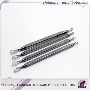 High Quality Stainless Steel Double Nail cuticle pusher spoon