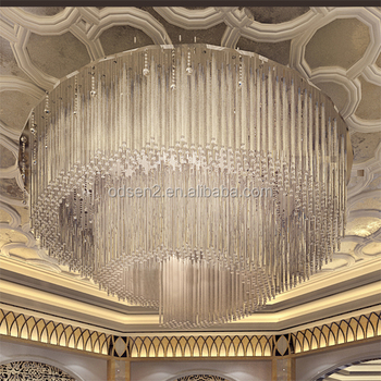 Hotel project crystal chandelierbanquet hall lightingcrystal round hotel project crystal chandelierbanquet hall lightingcrystal round chandelier lights aloadofball Images