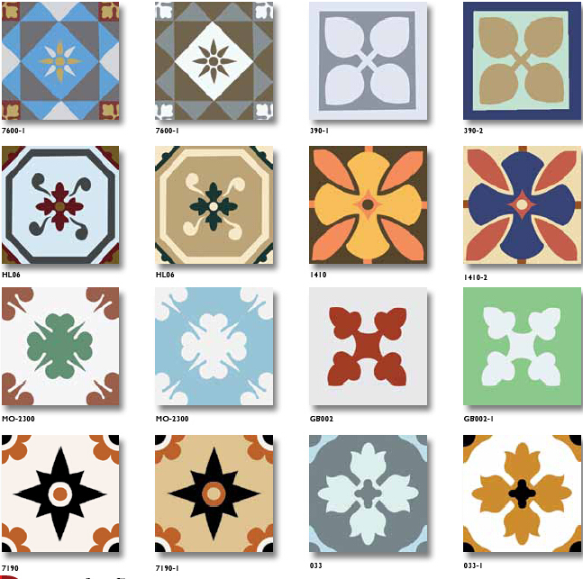 painted tile designs. Different Handmade Encaustic Cement Floor Hand Painted Tiles Tile Designs