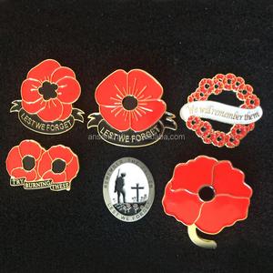 Cheap Custom Made UK Remembrance Day Pin Badge