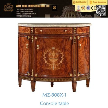 Console Table With Mirror Antique Wood Console Tables Classic Marble