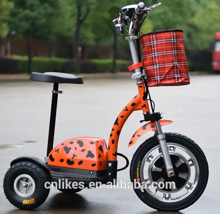 Big adult three 3 wheel electric scooter buy electric for 3 wheel motor scooters for adults