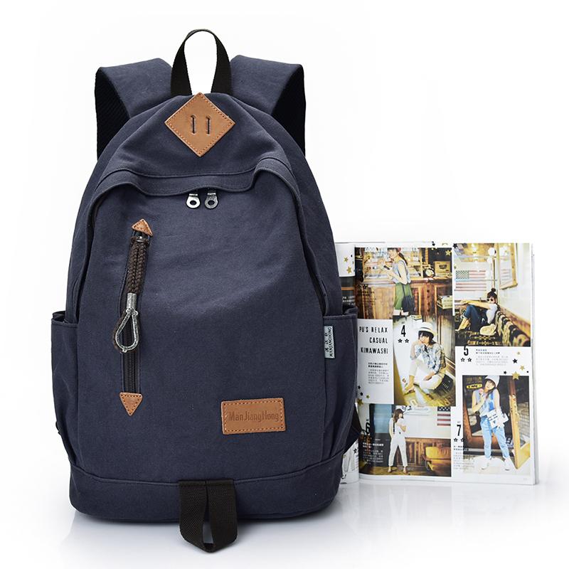 942cd66e9f973 الكورية نمط أزياء القطن قماش daypack حقيبة مدرسية للبنات بنين-حقائب ...