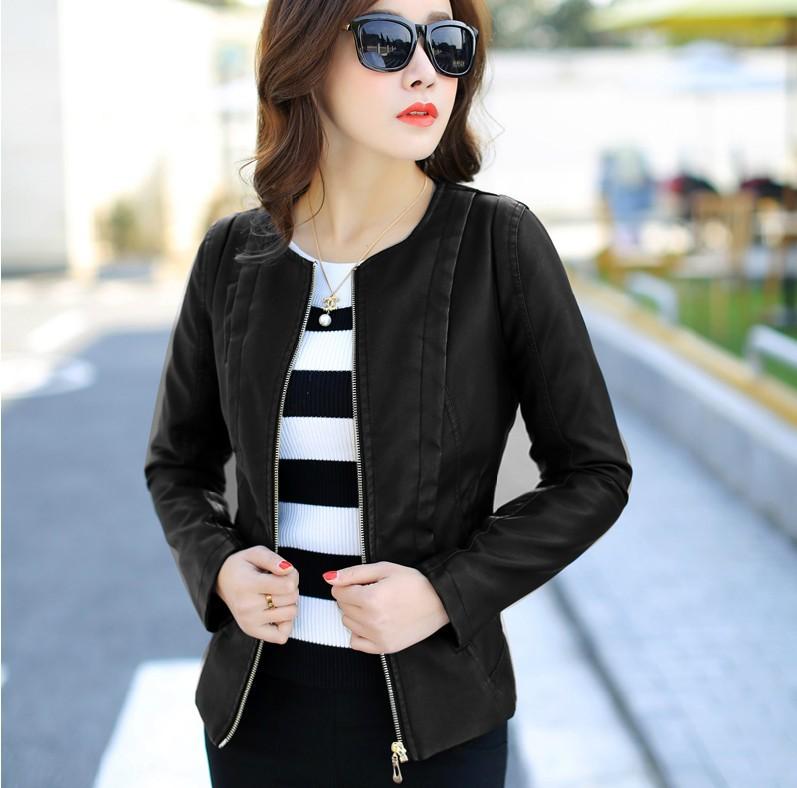 La veste de cuir – Vêtements élégants modernes