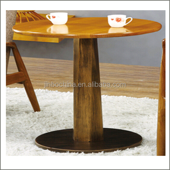 Superieur Special Offer Single Leg Wood Dining Table