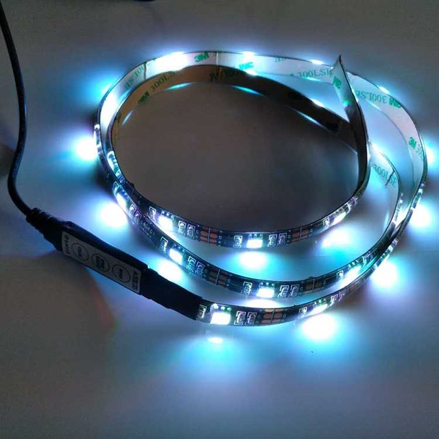 tv accent lighting. Waterproof IP65 SMD5050 White Warm Red Green Blue LED TV Accent Lighting Ambient Tv K