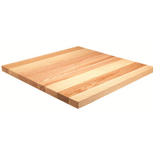solid oak wood table top with eased edge for sale