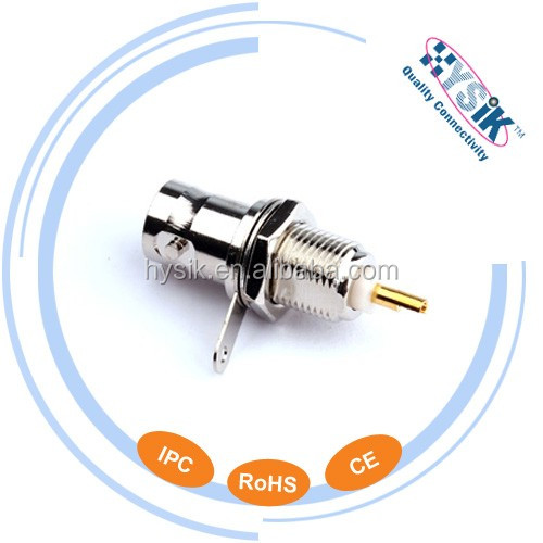 BNC Female Straight Solder Type BNC Connector 50 Ohm