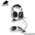 ANR Aviation Headset For Pilot With Adjustable Metal Boom