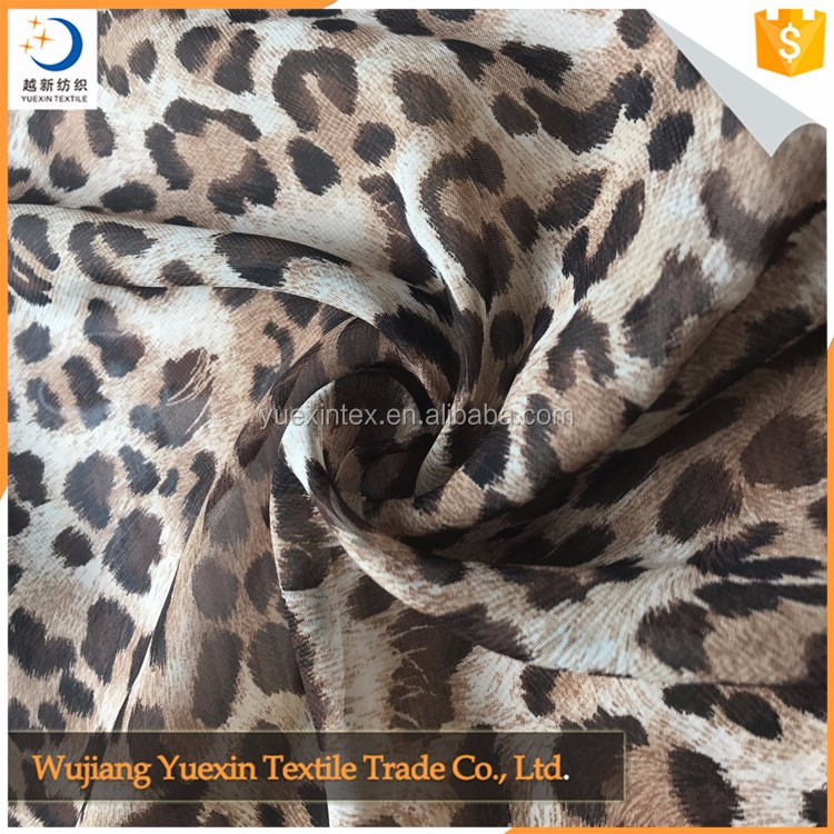Wholesale High Quality Leopard Printed Fabric