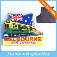 PVC Fridge Magnet For Different Countries rubber souvenirs customized gifts