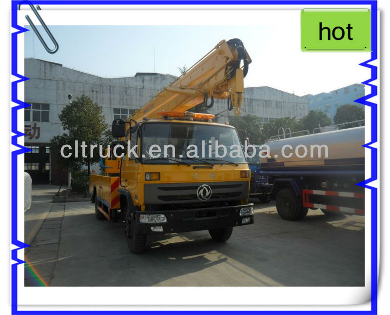 24m aerial platform truck via dongfeng chassis,insulated bucket trucks