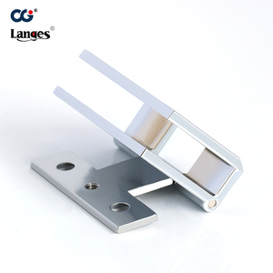 Soft closing wood small cabinet glass door hinges