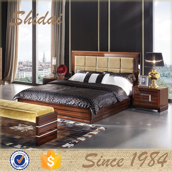 Wooden Ebony Bed Designs Furniture / Wood Double Bed Designs / Indian Wood  Double Bed Designs