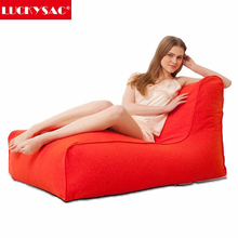 LUCKYSAC Sofa Bean Bag 1Person Couch - Indoor Outdoor Water Resistant Lounge Chair Relax