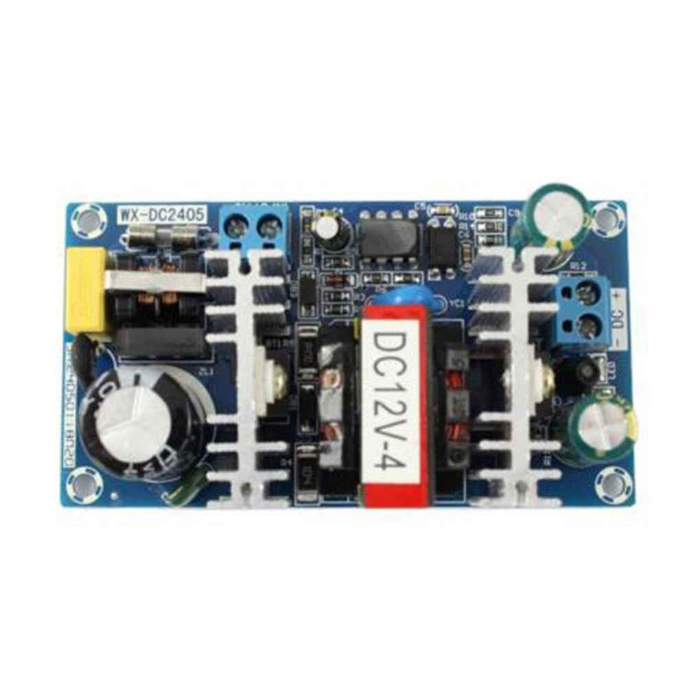 Cocoray 50W AC 100V-240V to DC 12V 4A Switch Power Supply Module AC-DC Low Ripple Industrial Power Supply Bare Board
