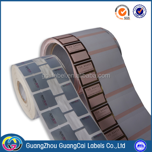 High quality self-adhesive cosmetic date code paper label stickers