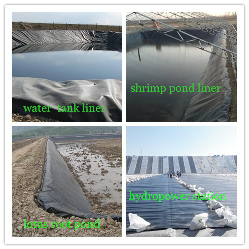 Waterproof Plastic Sheet Hdpe Ponds Liner For Philippines Aquaculture