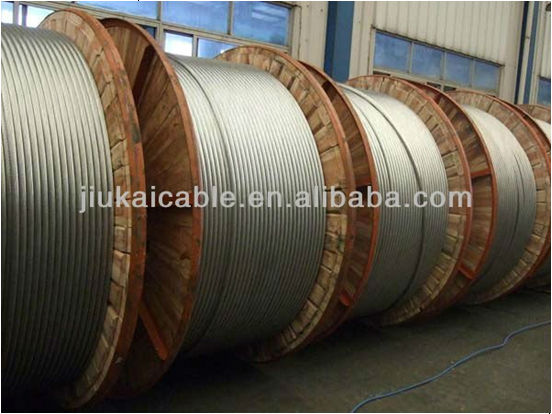 Aluminum Overhead acsr hawk conductor wire cable Standard BS 215 Part 2 Chemical Corrosion Resistant